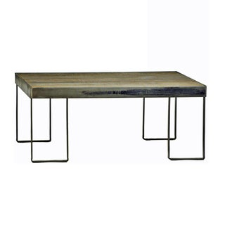 Industrial Wood Coffee Table