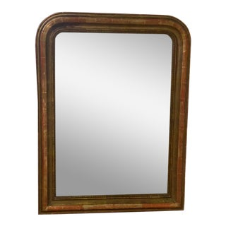 Antique Louis Philippe Style Mirror For Sale