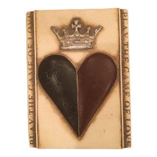 "Sid Dickens ""Heart & Crown"" Memory Block"" Tile For Sale"