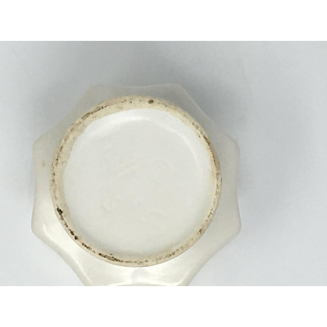 Mid-Century Modern Winter White Pottery Collection - 3 Pieces For Sale - Image 11 of 13
