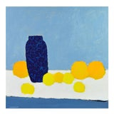 Image of 'Color Composition' Original Abstract Painting by Lars Hegelund, 31 X 31 In.
