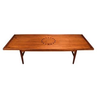 "1960s Mid Century Modern Drexel ""Declaration"" Coffee Table For Sale"
