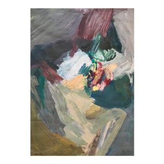 Mid-Century Abstract Figurative Painting