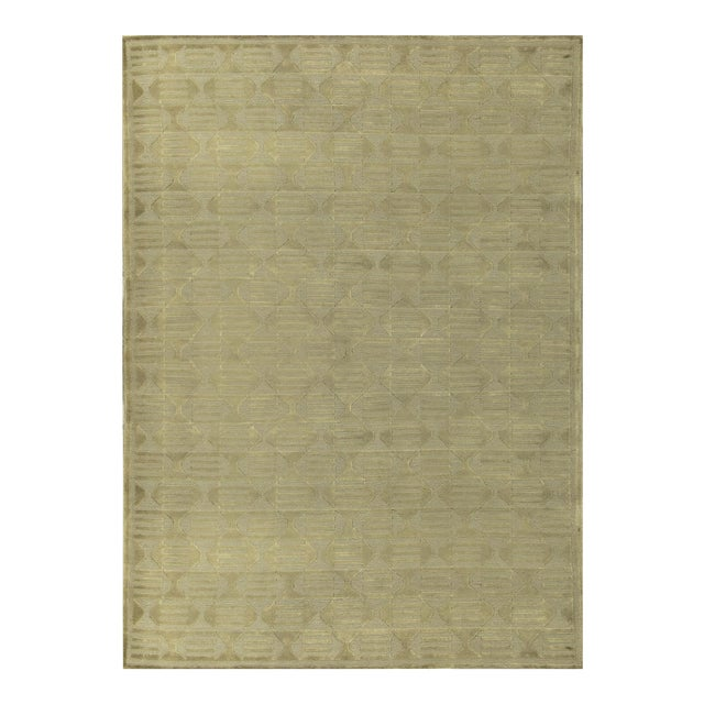 Contemporary Hand Woven Rug - 5'2 X 7'9 For Sale