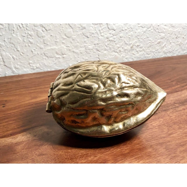Mid 20th Century Mid 20th Century Solid Brass Walnut Cracker For Sale - Image 5 of 13