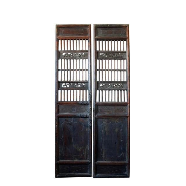 Antique Chinese Wood Screen Door - Antique Chinese Wood Screen Door Chairish