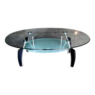 Mid Century Modern 2 Tier Spider Leg Coffee Table For Sale