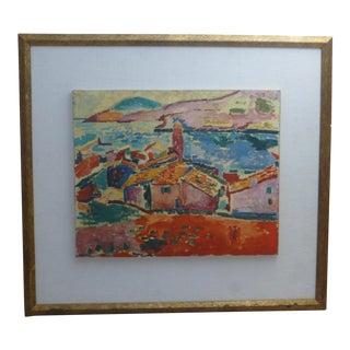 Les Toits De Collioure, a Henri Matisse Print