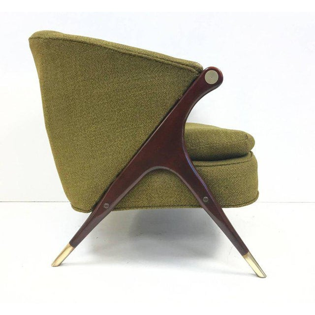 Mid-Century Modern Karpen of California Mid-Century Modern Lounge Chairs For Sale - Image 3 of 5