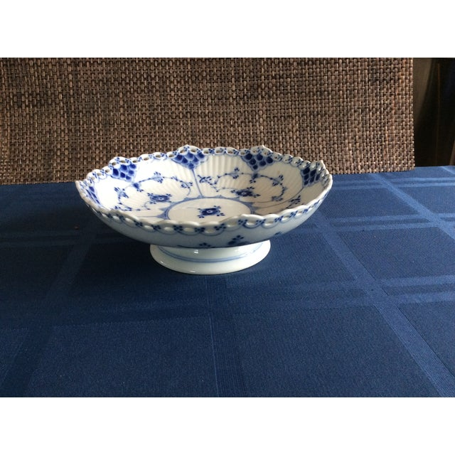 Royal Copenhagen Full Lace Footed Candy Dish - Image 2 of 5