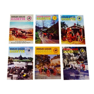 Horseless Carriage Gazette Magazines - 1961 Full Year - Collectible