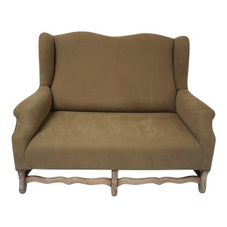 Antique Os De Mouton Settee-Belgium Circa 1902 For Sale