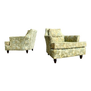 """Karpen for Wincraft """"Atomic Age"""" Mid Century Modern Lounge Chairs -A Pair For Sale"""