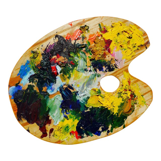 French Artist Palette - Image 1 of 5