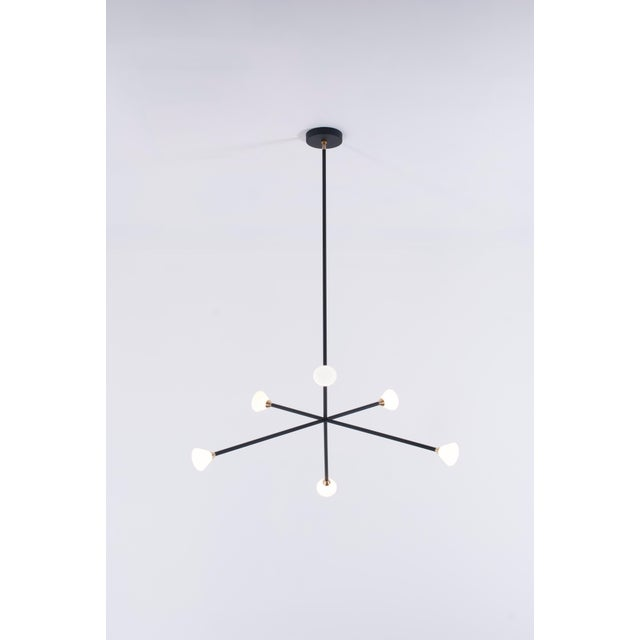 Not Yet Made - Made To Order Nova Chandelier by McKenzie & Keim For Sale - Image 5 of 10