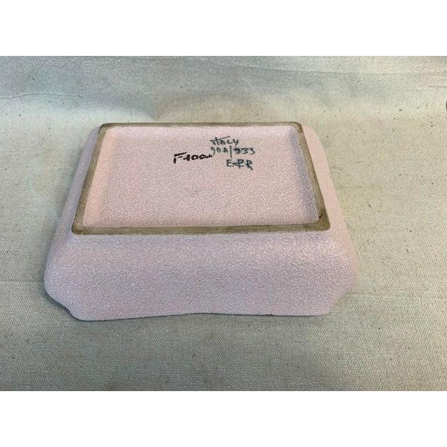 Mid-Century Modern Fratelli Fanciullacci Ceramic Dish For Sale - Image 9 of 12