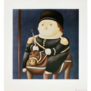 Fernando Botero-St Georg-Poster For Sale