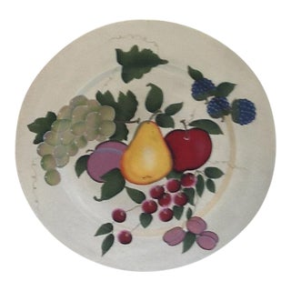 1970's Home Interiors Fruit Wall Plaque For Sale