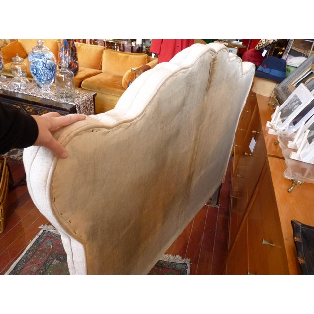 Vintage Tufted Full Size Hearboard - Image 4 of 8