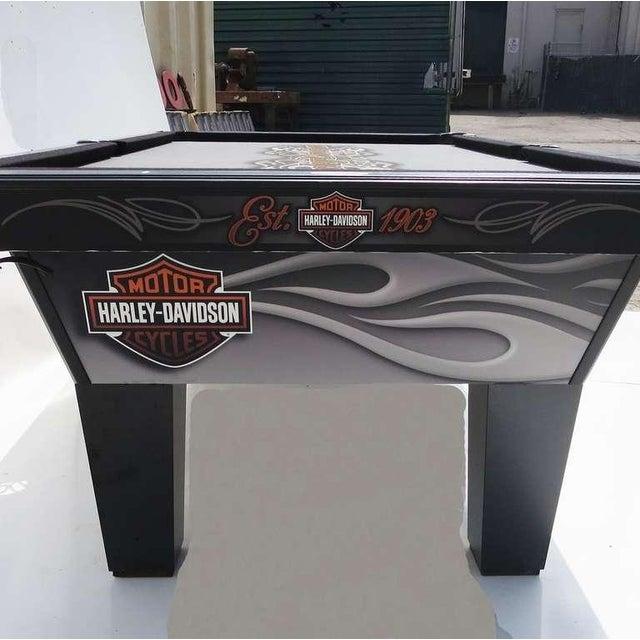 Harley Davidson Custom Pool Table - Image 6 of 8