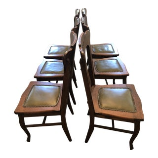 Early 20th Century Oak Dining Chair For Sale