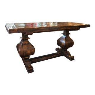 18th Century French Oak Sofa Table For Sale