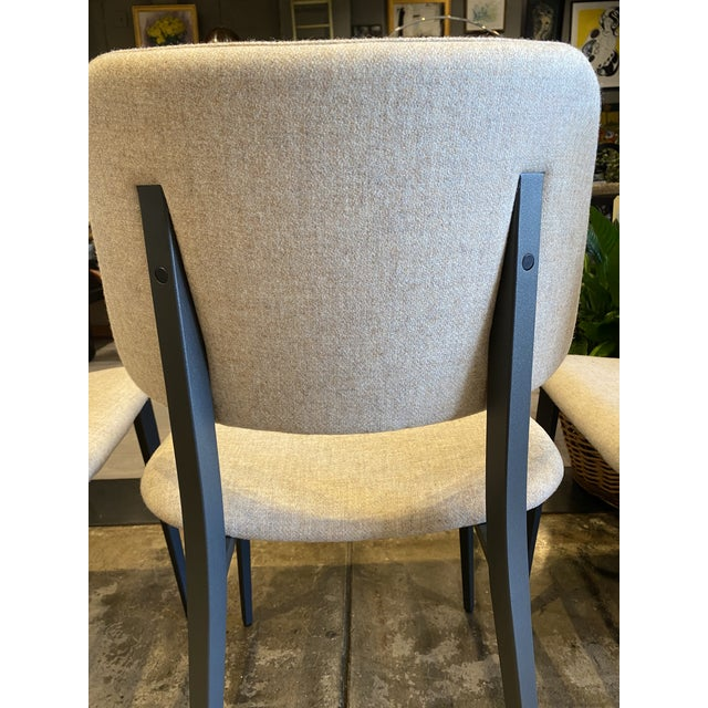 Italian Dining Chairs - Set of 4 For Sale - Image 4 of 9