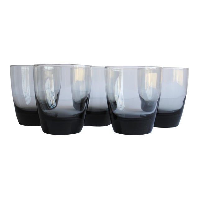 Mid-Century Lowball Glasses, Set of 5 - Image 1 of 4