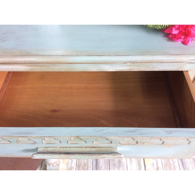 1930s French Cottage Painted Buffet For Sale - Image 12 of 13