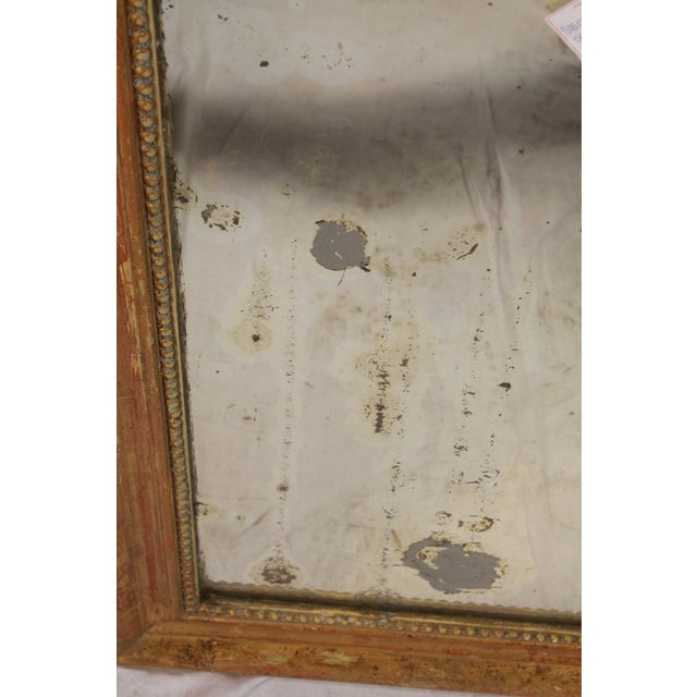 Late 19th Century 1880 Louis Philippe Gilt Mirror For Sale - Image 5 of 7