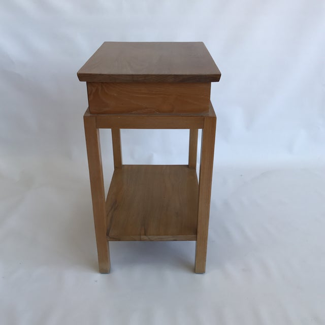 Paul frankl ash side table chairish for Cie no 85 table 4