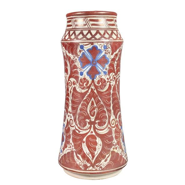 Hispano- Moresque Ware Pottery Vase For Sale