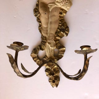Vintage Rococo Cherub Wall Sconce Preview