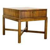 Image of Mid Century Walnut Side Table, Walnut Table, Side Table For Sale