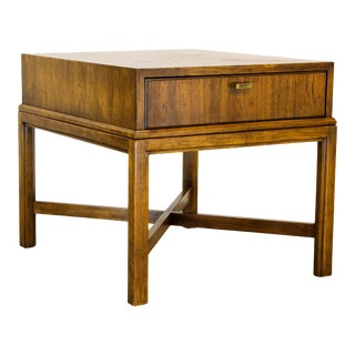 Mid Century Walnut Side Table, Walnut Table, Side Table For Sale