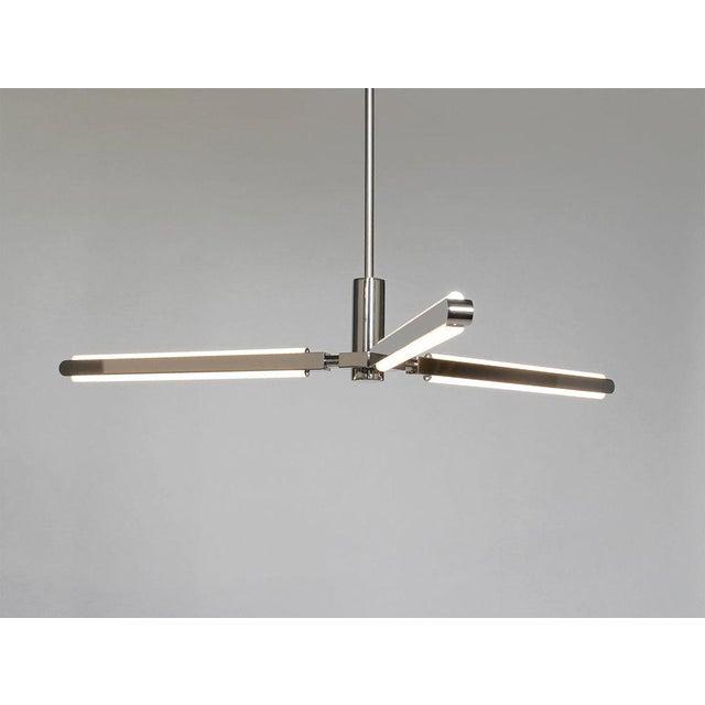 Modern Pelle Pris Y Light Fixture For Sale - Image 3 of 3
