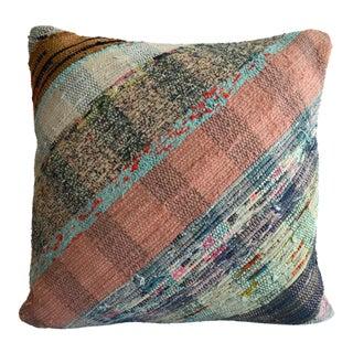 "16"" Pillow Cover Throw Pillow Vintage Handmade Cotton Ragrug Kilim Sham For Sale"