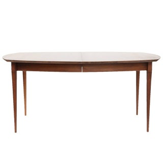 Bertha Schaefer Walnut Dining Table for Singer and Sons For Sale