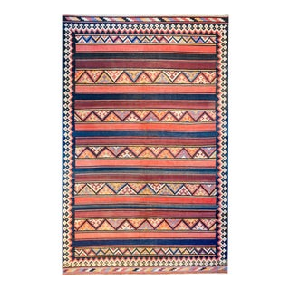 Early 20th Century Zarand Kilim Rug For Sale