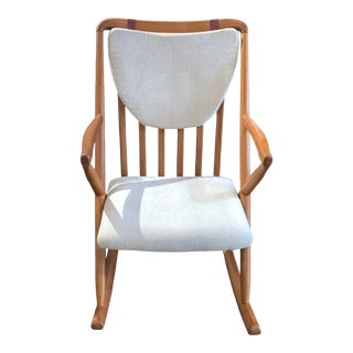 Vintage Benny A. Linden Mid-Century Modern Rocking Chair For Sale