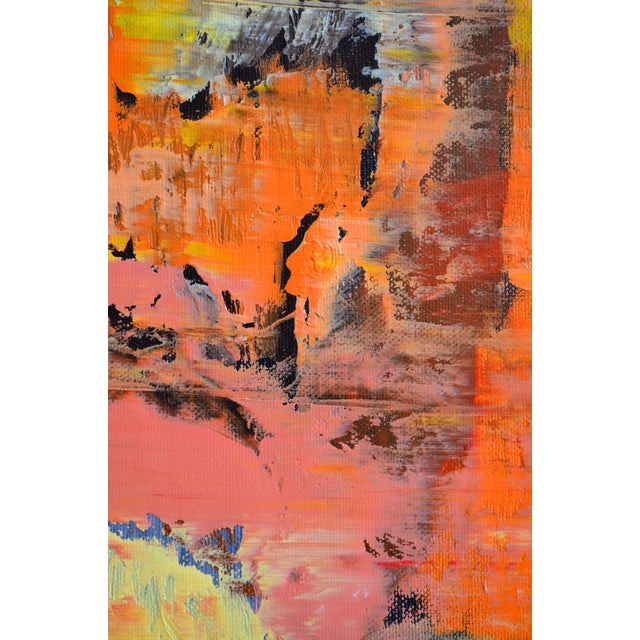 Abstract Painting - Orange - Image 4 of 5