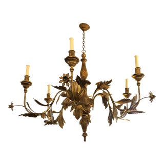 Tivoli Six Light Chandelier From Minton-Spidell For Sale