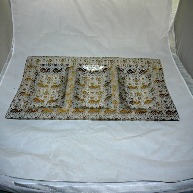 Georges Briard Mid-Century Divided Server Tray - Image 2 of 7