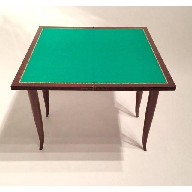 Mercier & Chaleyssin Flip Top Game Table - Image 6 of 9