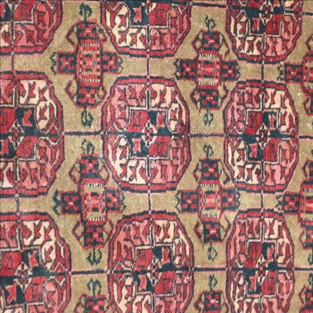 "Vintage Turkaman Persian Rug - 2'1"" X 2'7"" - Image 5 of 7"