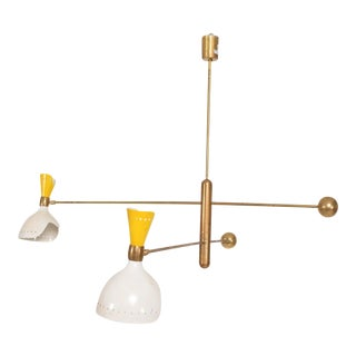 Mid-Century Modern Italian Mobile Chandelier For Sale