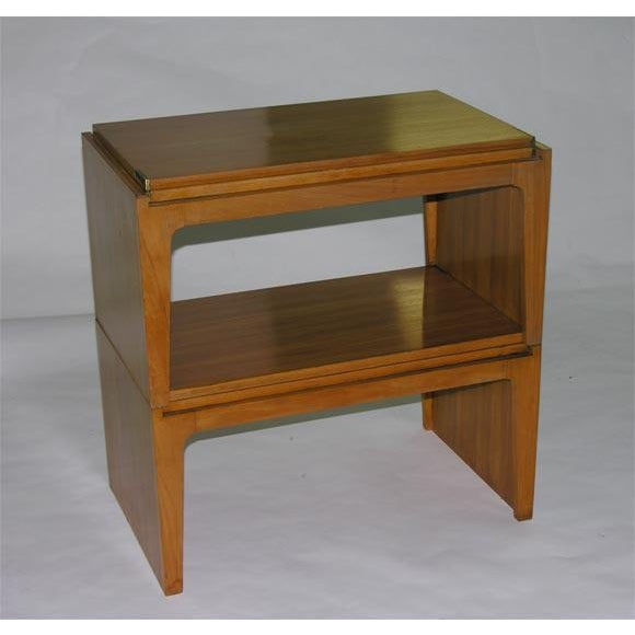 Edward Wormley Convertible Stacking Occasional Tables by Edward Wormley For Sale - Image 4 of 6