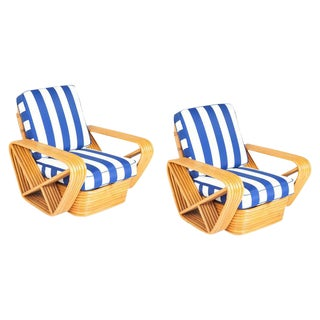 1970s Paul Frankl Style Pretzel Chairs For Sale