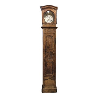 18th Century Grandfather Clock For Sale