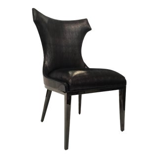 Caracole Signature Modern Urbane Side Chair For Sale